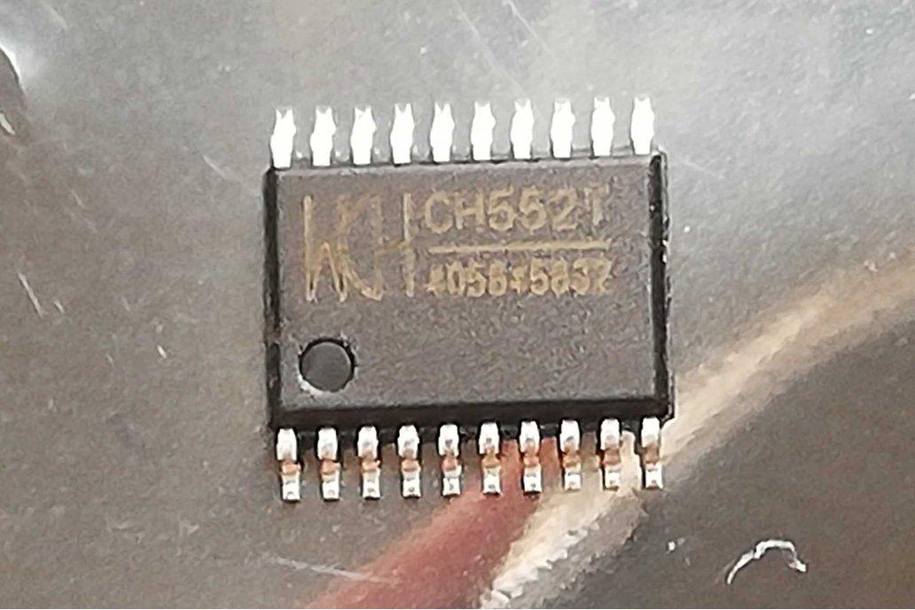 WCH CH552T E8051 8-BIT USB MCU TSSOP-20 1