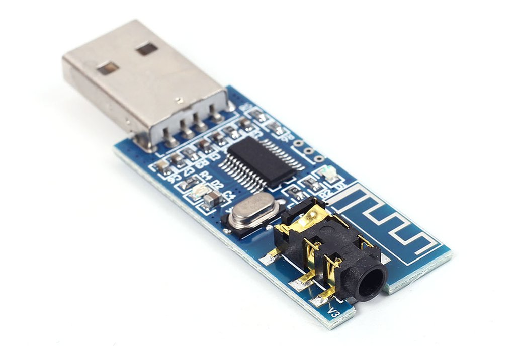 USB 5V Bluetooth 4.0 Audio Receiver Board (13224) 4