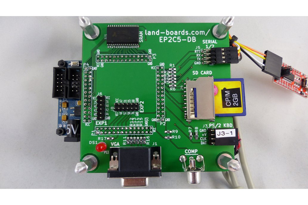 Z80, 6502, 6809, FPGA Multicomp PCB (EP2) 1