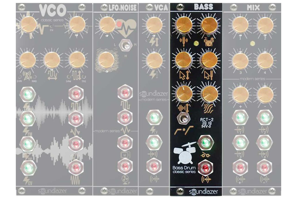 Big Hip Bass Drum Eurorack Module 1