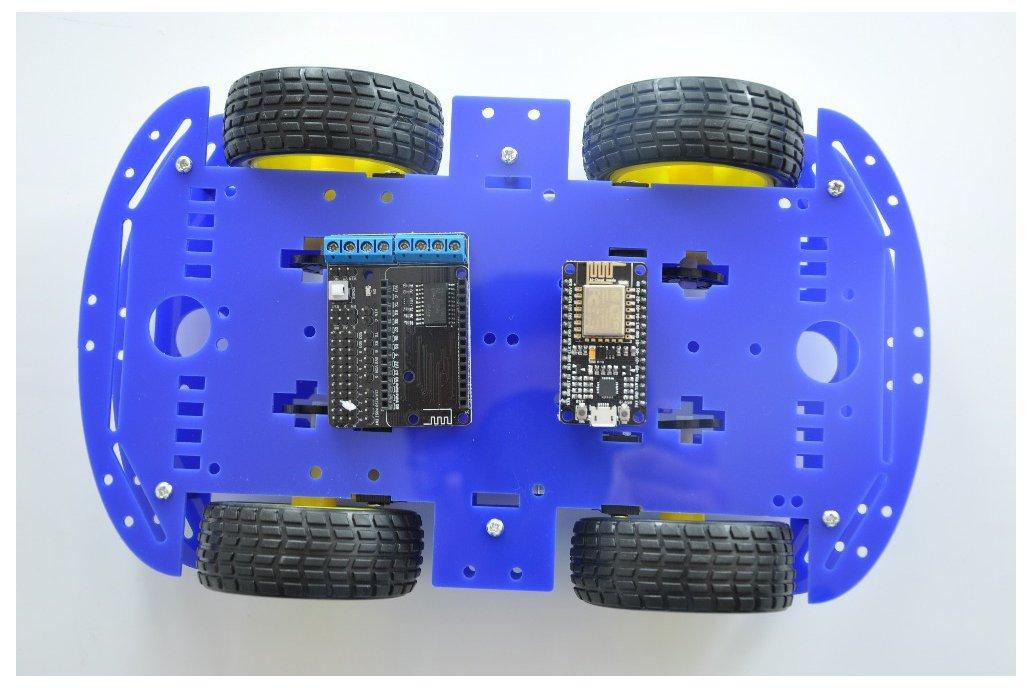 ESP8266 Wireless WiFi 4WD RC Smart Car  3