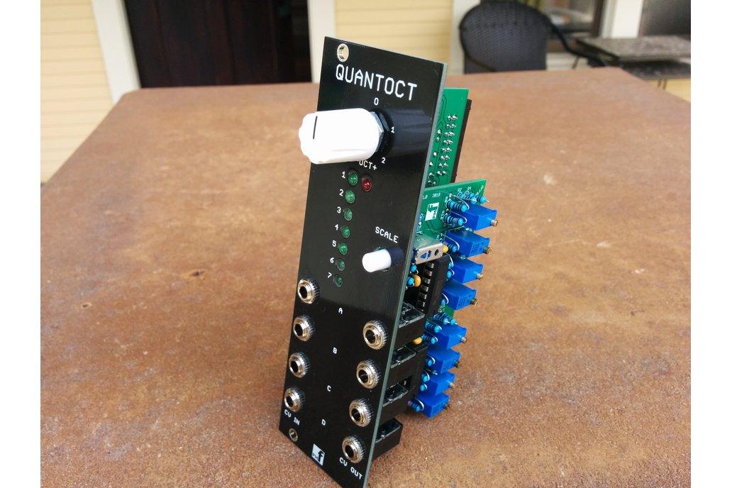 Quantoct - 4 channel quantizer (Eurorack PCB Set) 4