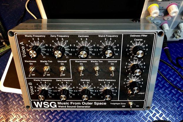 MFOS WEIRD SOUND GENERATOR WSG