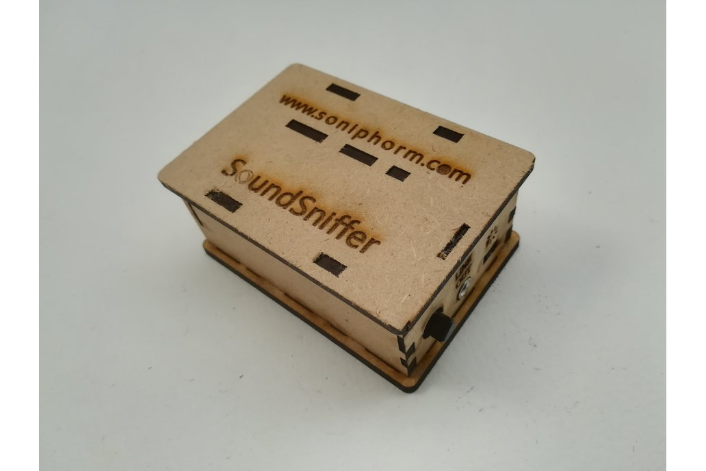 SoundSniffer preamp for contact mic, coil and mic 3