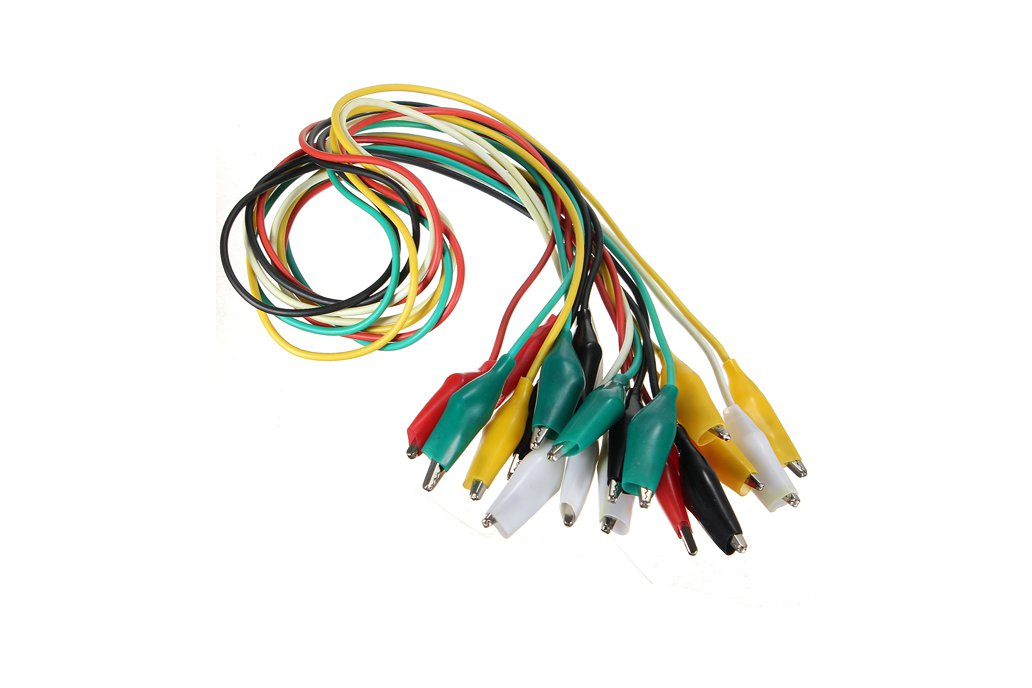 Double-ended Clips Cable Alligator Testing Probe  2