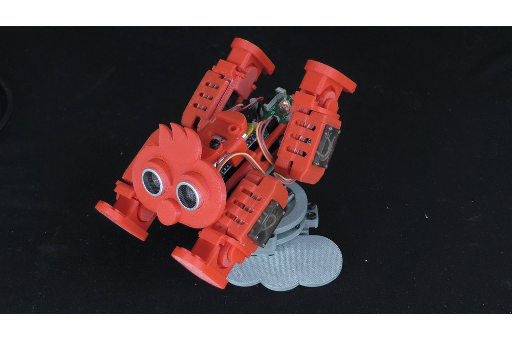 "Turntable Kit for 3D printed Robot ""Chappi"" 1"