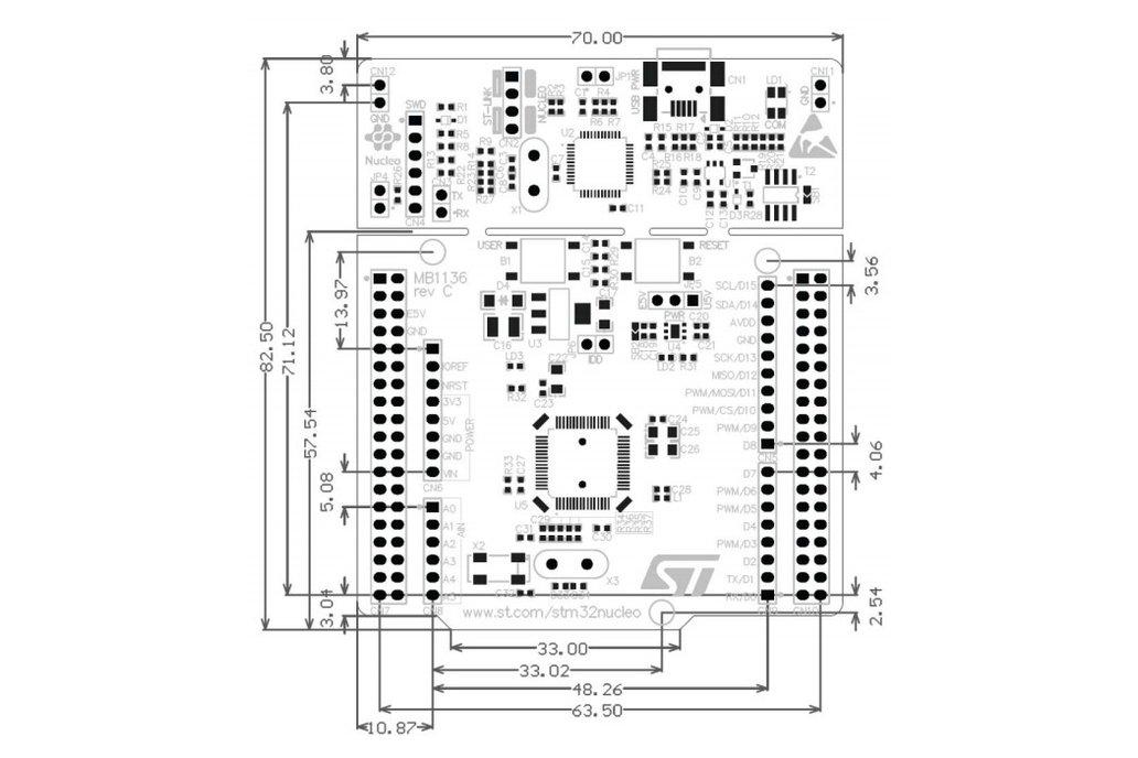 STMicroelectronics NUCLEO-F411RE development board 5