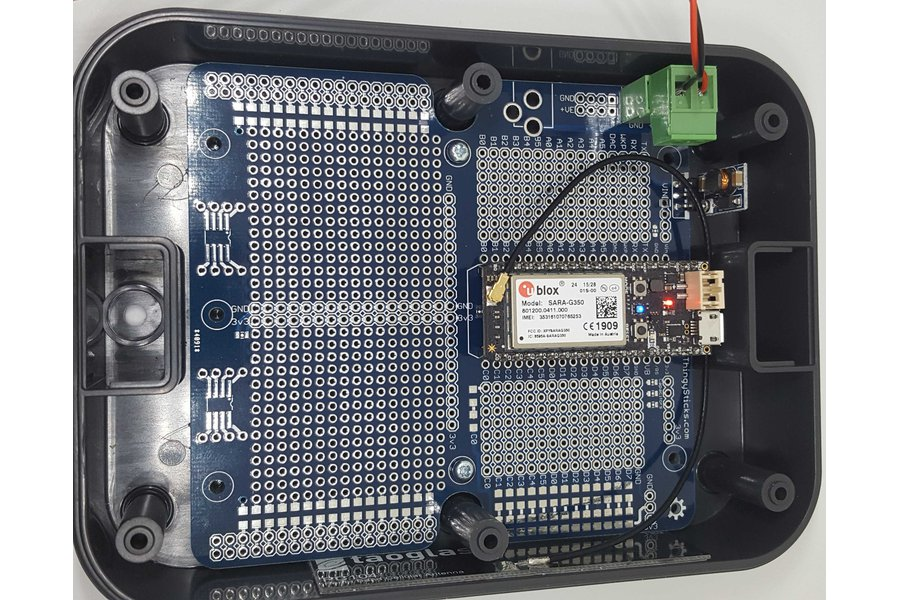 Photon/Electron Prototyping PCB for IP67 Enclosure