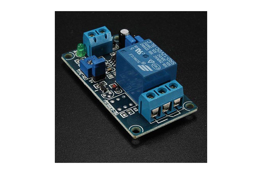 12V Power-ON Delay Relay Circuit  2