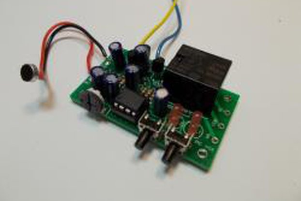 Sound Controlled Relay Kit - 12v (#2304)