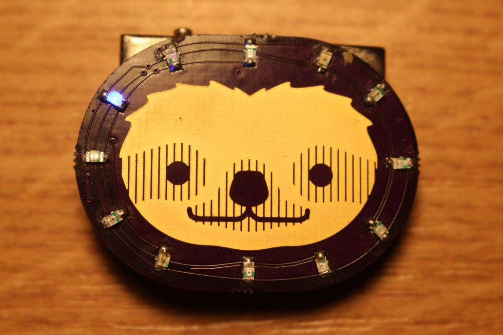 Unbearable Sloth Badge 1