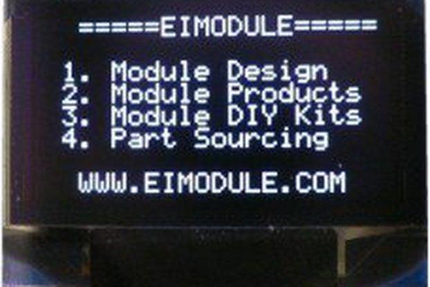 OLED Display 128x64 (5V SPI)
