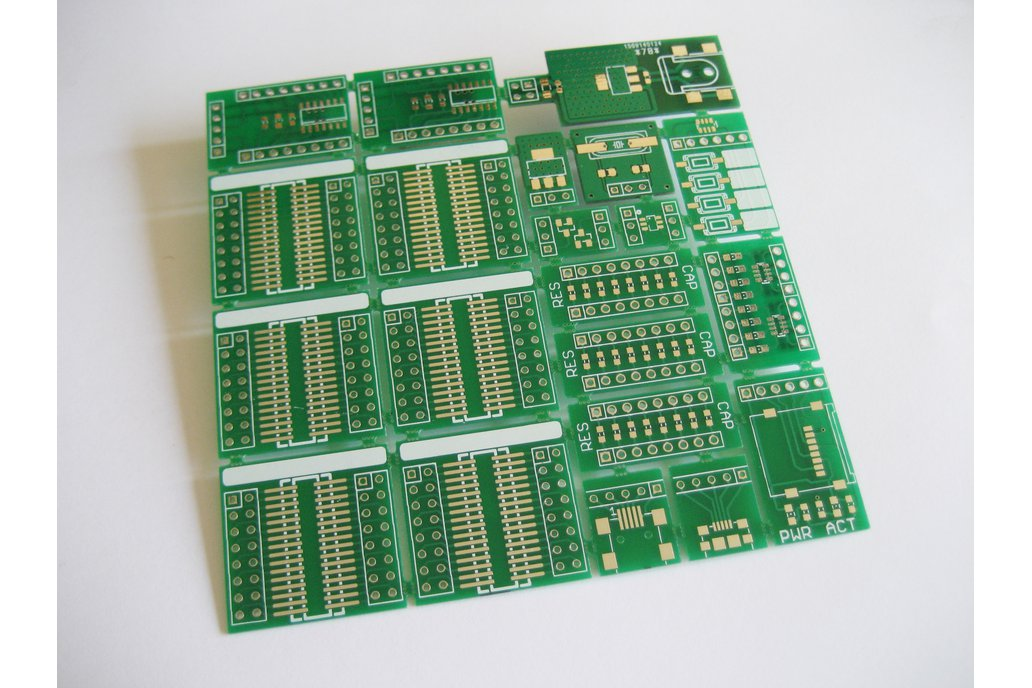 Breakable SMD prototype board 2