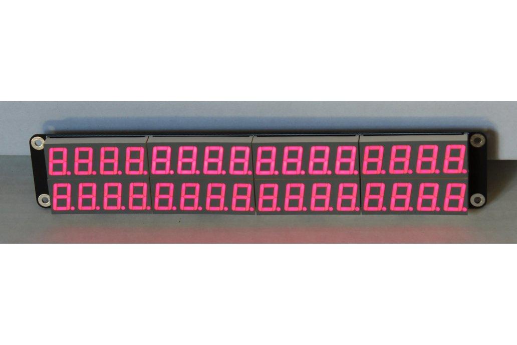 32x 7+1 Segment Display Panel 2