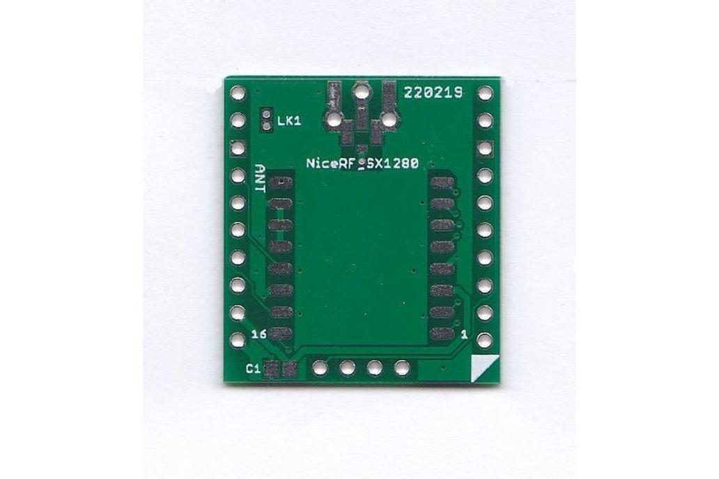 Breadboard Friendly Board for NicRF SX1280 Module 1