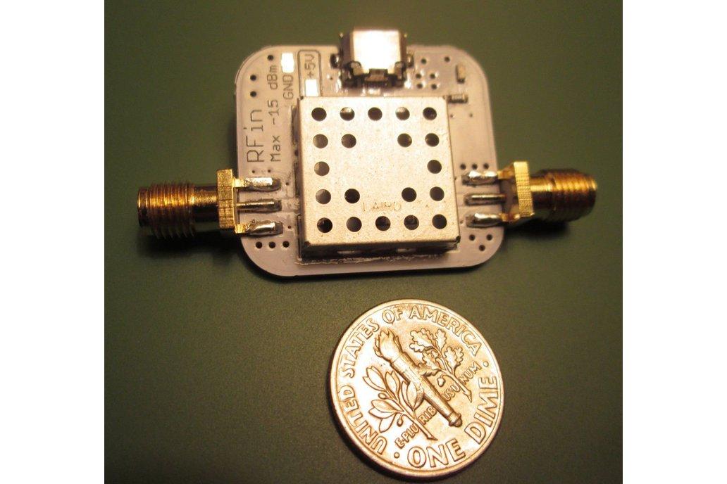 Low Noise Amplifier 10-6000MHz 40dB Gain, 0.8dB NF 2