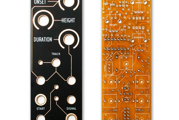 EVENT PCB and Panel-Eurorack Module by Rat King