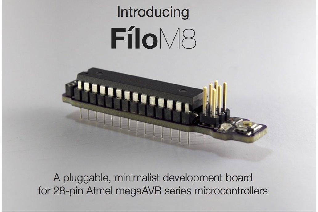Creltek Filo M8 (AVR Target Board) 1