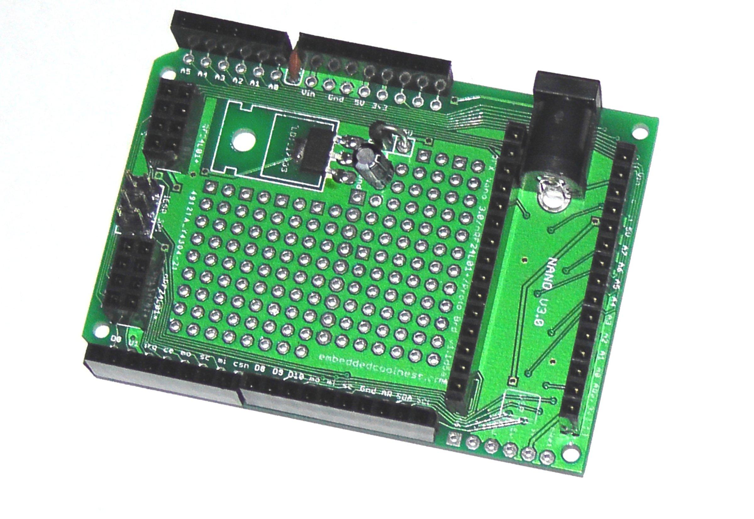Nano 3 Board W   Shield Breakout  Proto  Nrf24l01  From