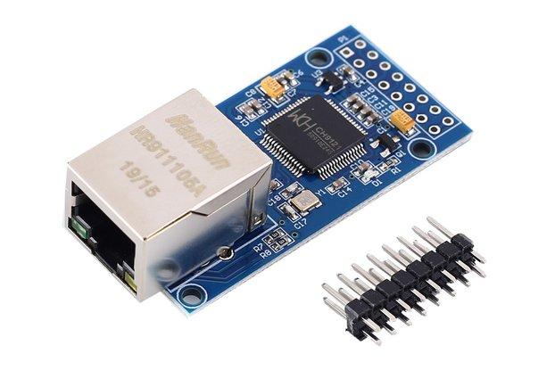 DC 3.3V 5V CH9121 Ethernet Network Module (GY16057