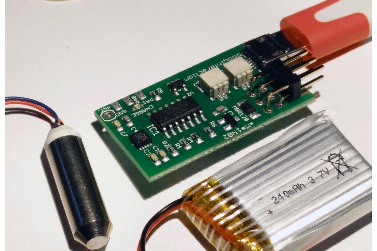 body interaction 1 - vibrator development board