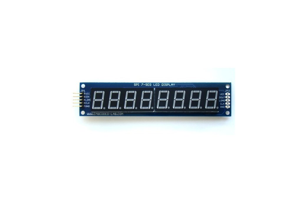 PCB for serial 7 segment LED display 3