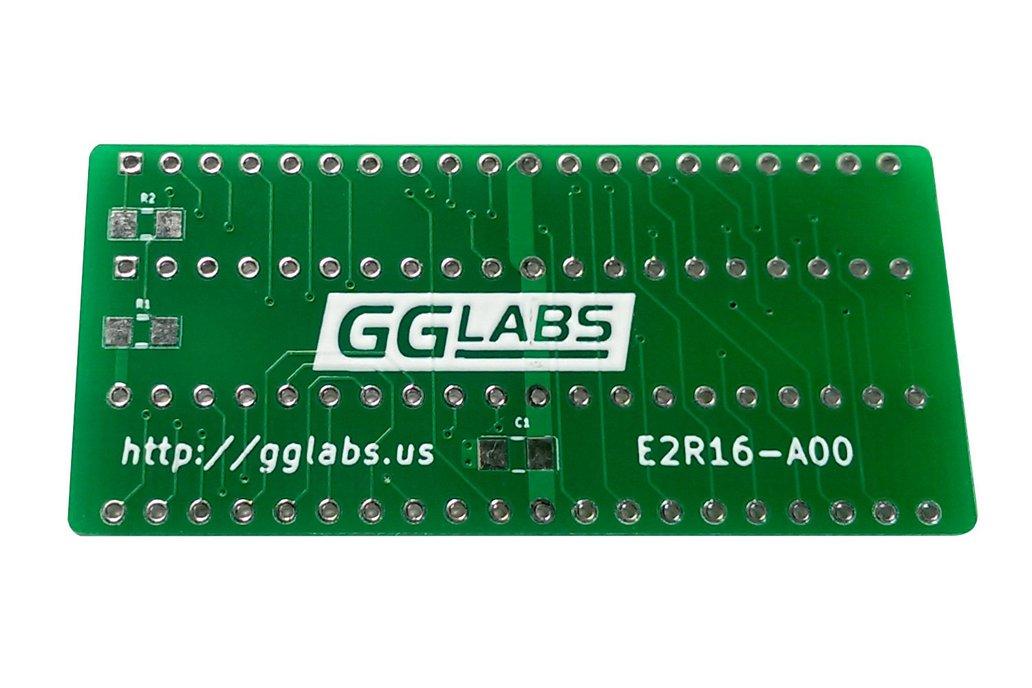 E2R16 - 27C400 adapter for TL866 - Amiga Kickstart 1