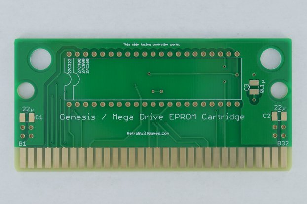 Repro PCB for Sega Genesis [Mega Drive] EPROMs