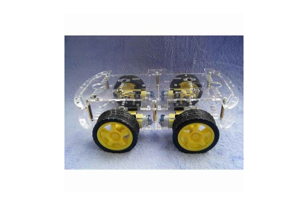 4WD Smart Robot Car Chassis Kit With Strong Magnet 3