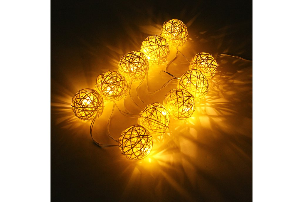Ball String Christmas LED Lights 3