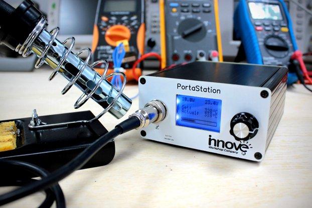 PortaStation: The Portable Soldering Station