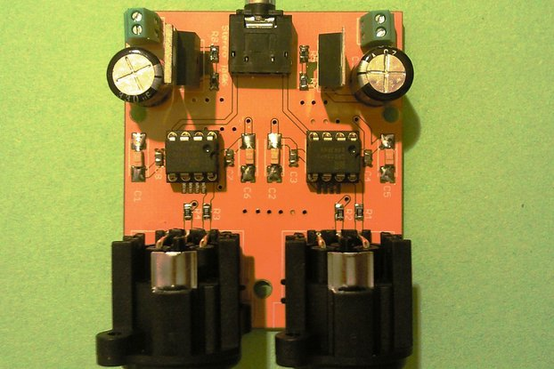 Audio-Balanced Line Driver Board