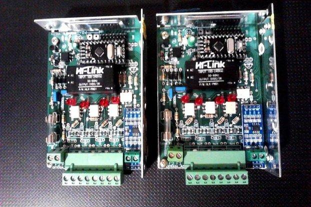 4x Dimmer AC 10A/CH ModBus RS485 Telegram Skype
