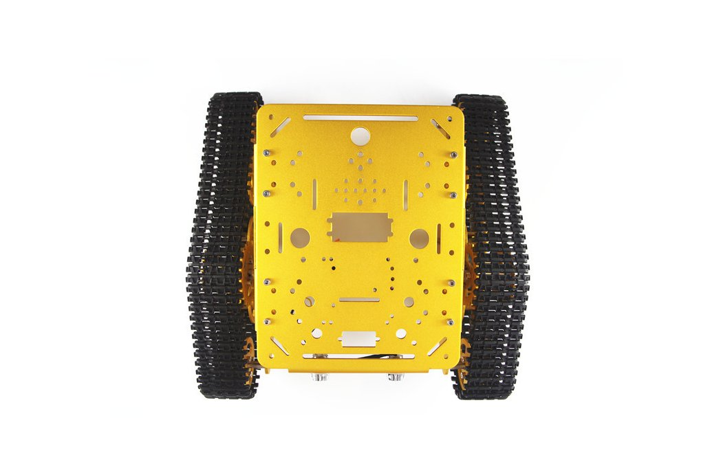 T300 Aluminum Alloy Metal Tracked Tank chassis  1