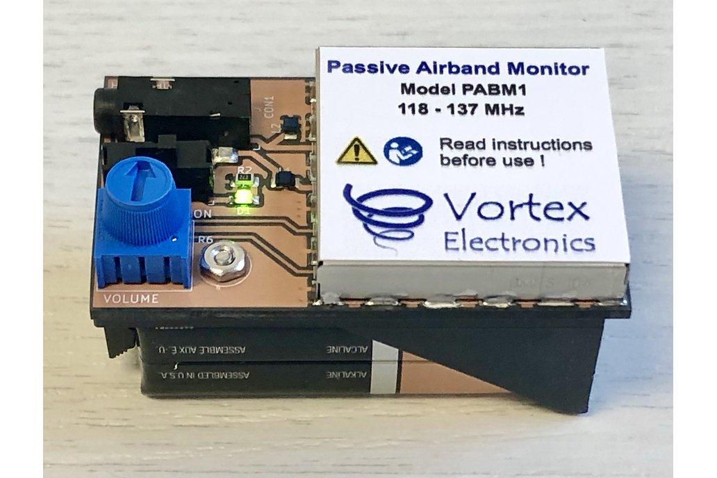 Passive Aircraft Band (Airband) Monitor 1