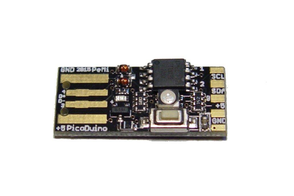 PicoDuino Attiny85 arduino & RGB led 5