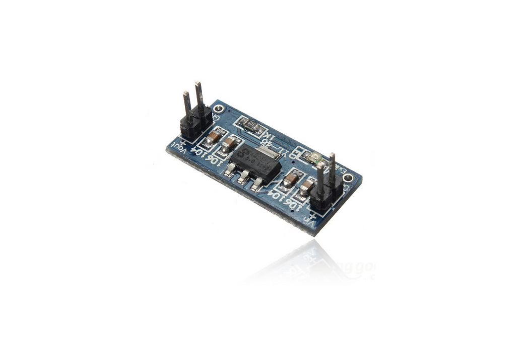 2Pcs 6.0V-12V To 5V AMS1117-5V Power Supply Module Voltage Regulator 1