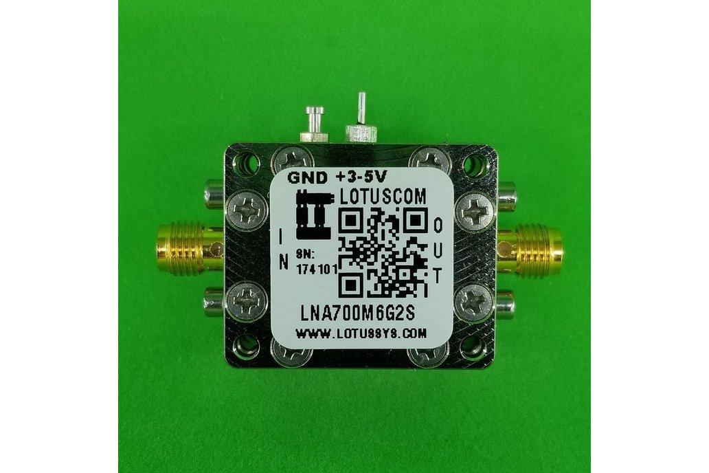 Amplifier LNA 0.4dB NF 0.7~6GHz 1