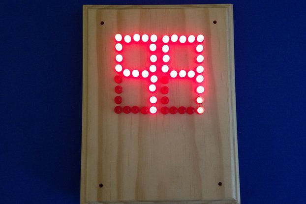 Scoreboard Deluxe -  LED Up & DownCounter (#5624)