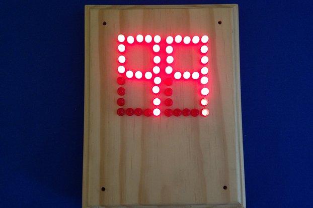 Scoreboard Deluxe -  LED Up & DownCounter (#5624)