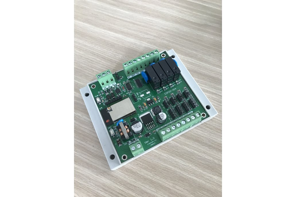 ESP32 - RS485 - 4 input - 4 output 1