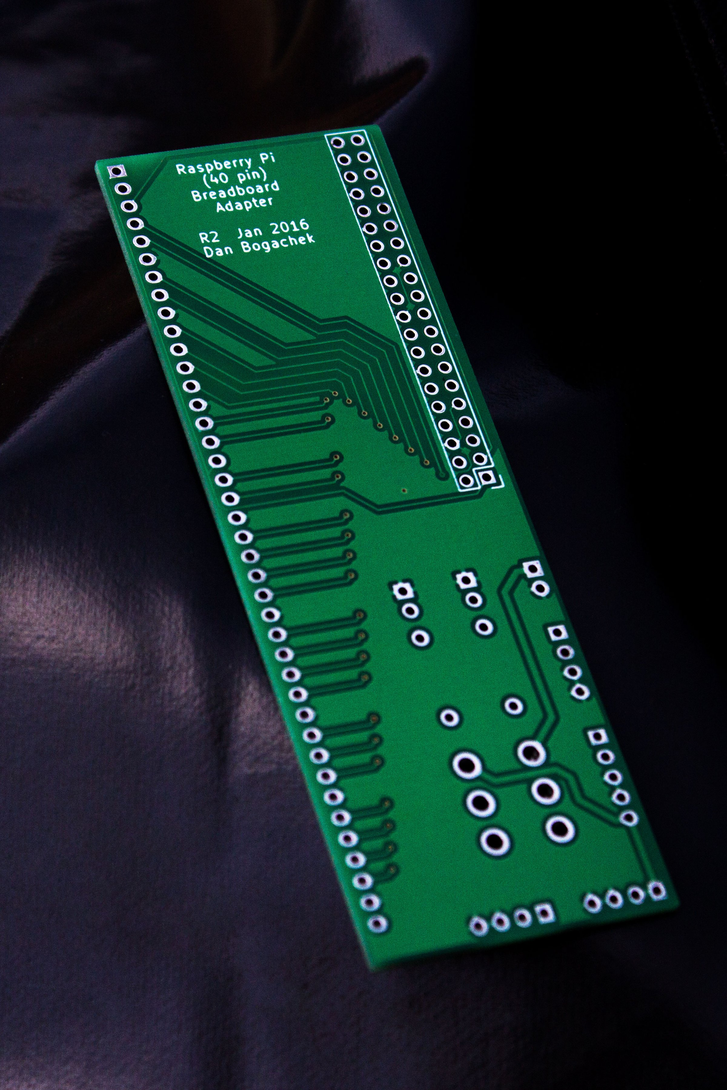 Raspberry Pi 40 Pin Breadboard Adapter From Bogasaur On Tindie Details About Pcb Printed Circuit Board Intermediate Kit 3