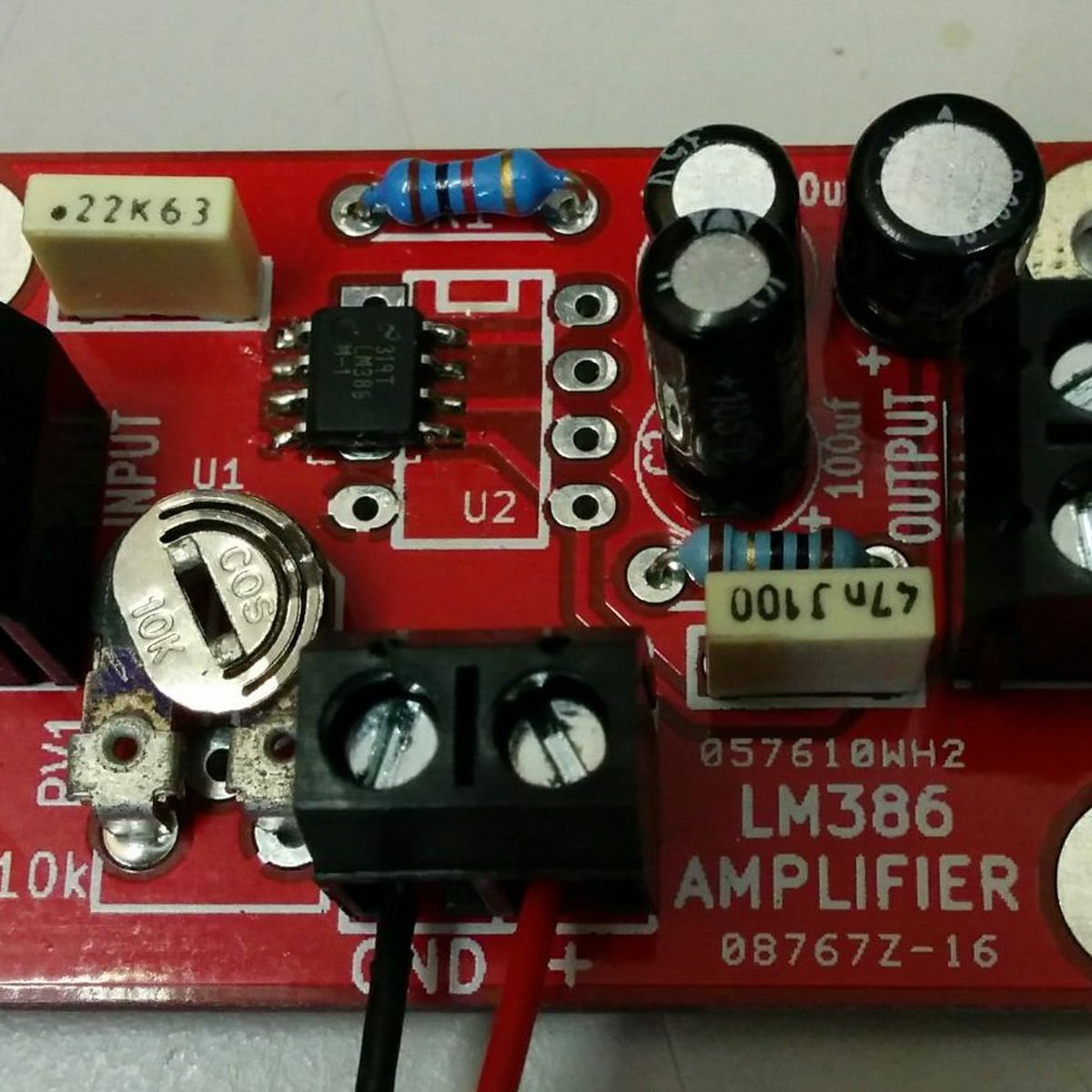 1w Mono Amplifier Kit From The Curious Electric Company On Tindie Simple Siren Using Dual Opamp Electronics Project