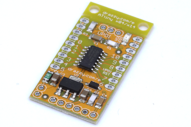 ATtiny1614/1604 dev board Arduino compatible