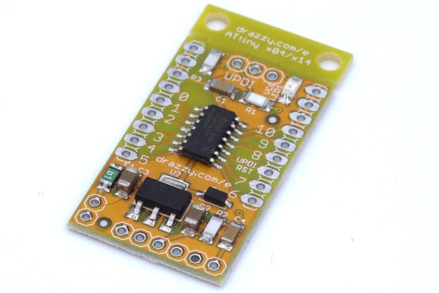 ATtiny1614/1604 dev board Arduino compatible
