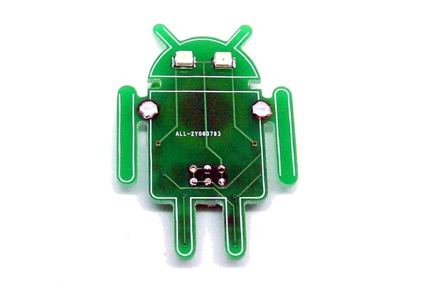 Robot - LED learn to solder kit
