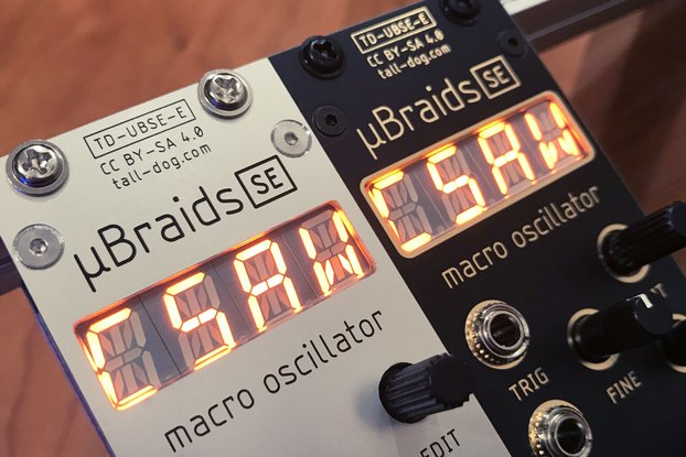 µBraids SE (uBraids, microBraids) Eurorack [Rev F]