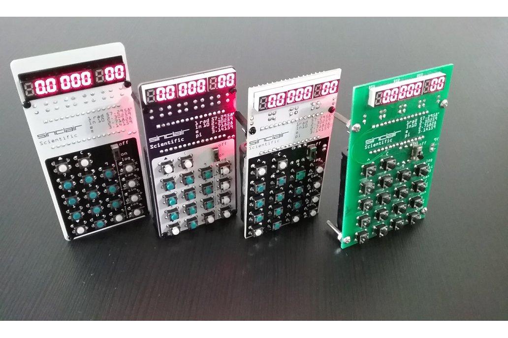 Sinclair Scientific Calculator Emulator 9