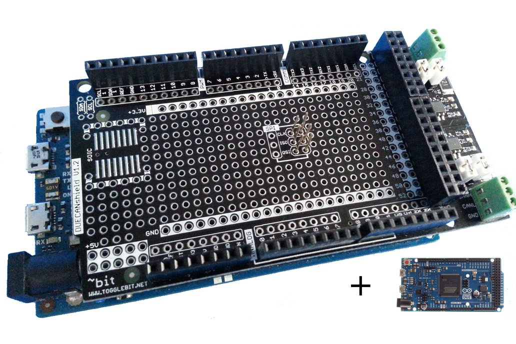 Arduino DUE Dual CAN Kit 1