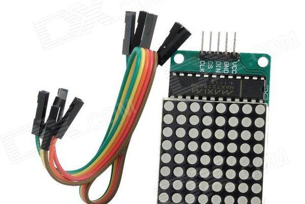 8x8 LED Matrix module for Raspberry Pi and Arduino